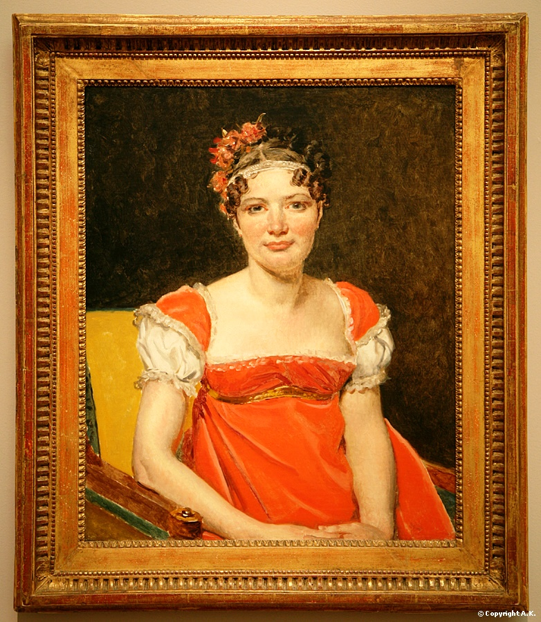 Louise Emilie Félicité David  la fille du peintre