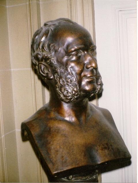 Prosper Derode buste en bronze