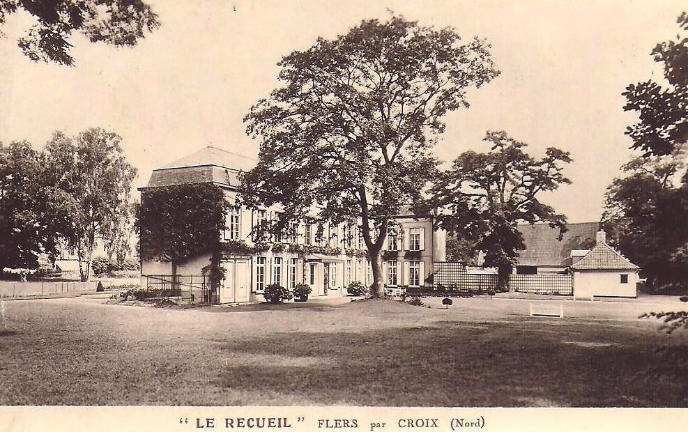 Chateau-du-Recueil à Flers-les-Lille-Jean-Baptiste-Smet-famille-Lefebvre