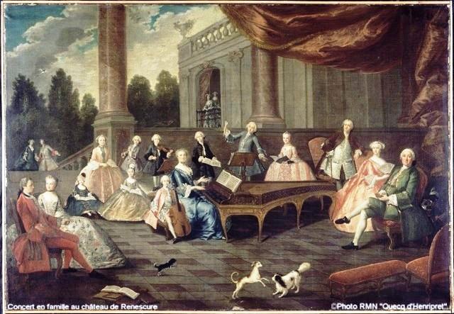 Concert Taverne-de-Mondhiver-en famille au château de Renescure
