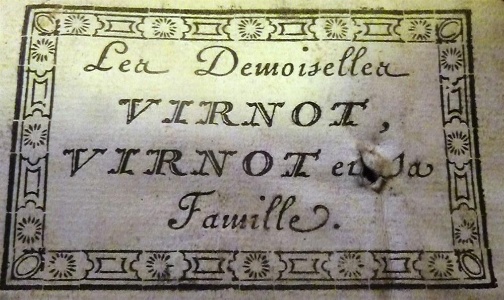 Virnot-Demoiselles.