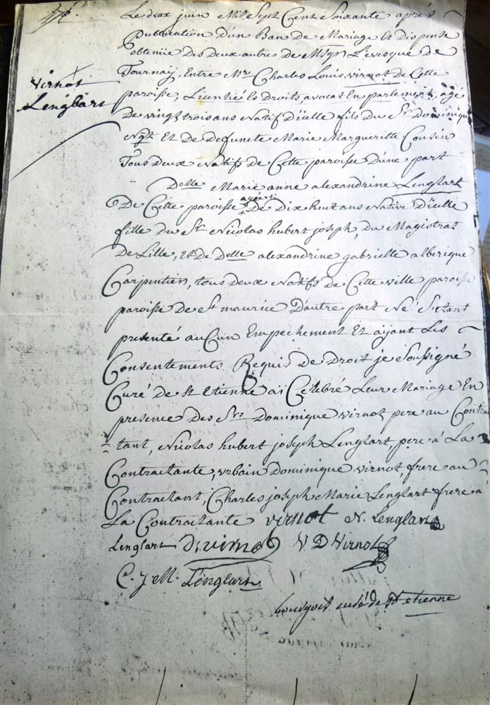 Virnot-Urbain-Dominique-Lenglart-mariage-1760