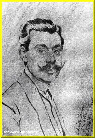 Achille Segard homme de lettres par Antonio de La Gandara