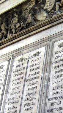 Arc Triomphe Paris Baron MeunierPauline  Derode