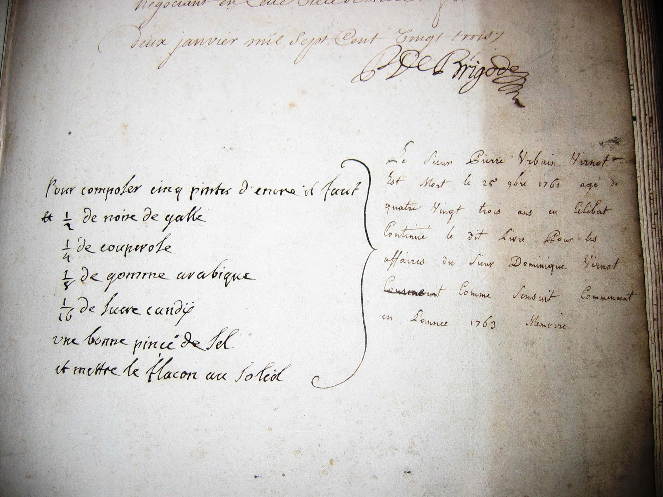 lettre-Virnot-de-Brigode