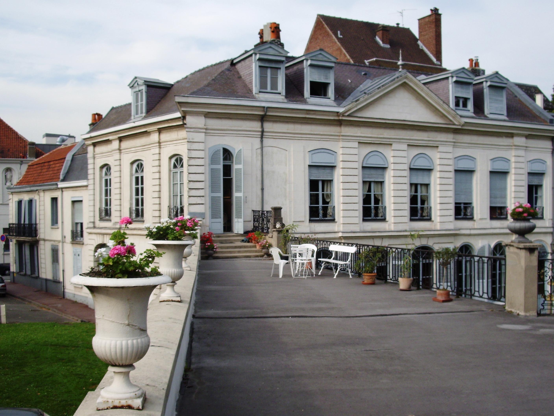 Hôtel Virnot de Lamissart 52 façade de l'Esplanade Lill